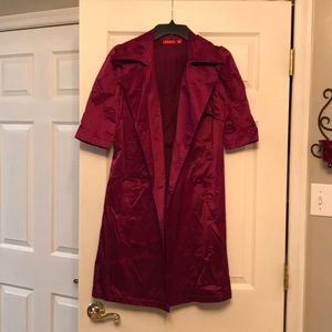 Plum Fall Jacket